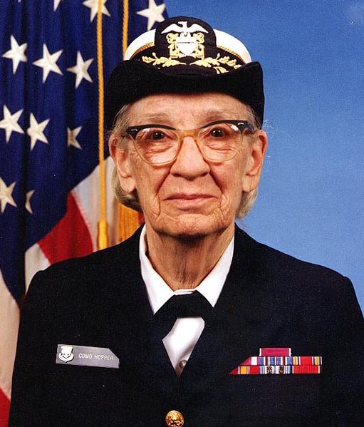 Portrait of Grace Hopper